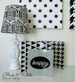Black & White Design Trend – Free Printables! #ShutterflyDecor