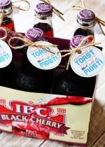 Idée de cadeau de boisson de fête des pères avec imprimable gratuit