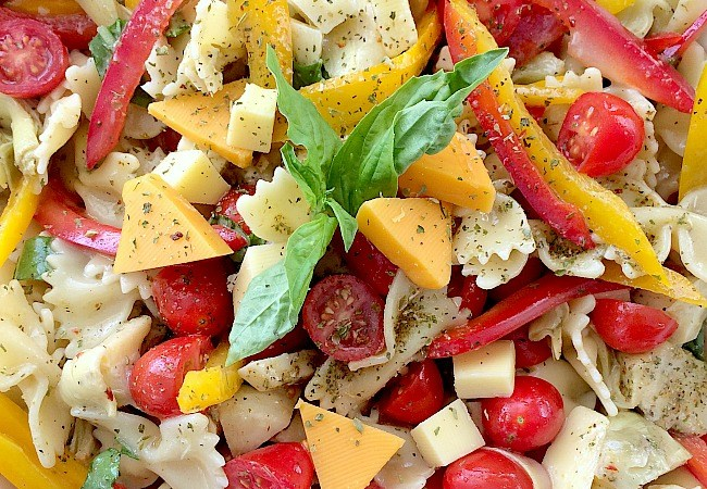 Fresh Springtime Pasta Salad Recipe