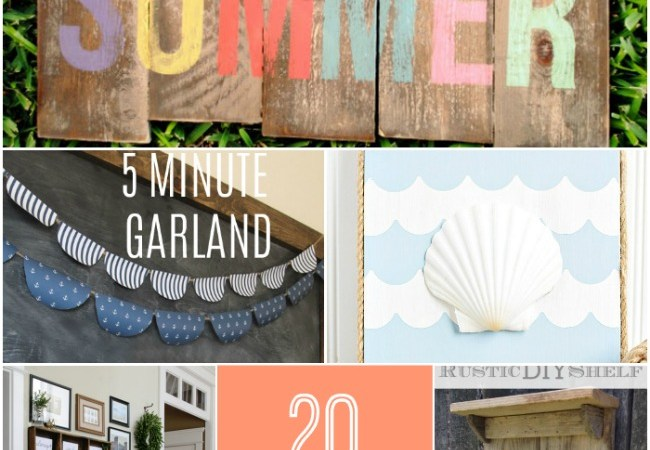 Great Ideas — 20 DIY Wall Decorating Ideas!!