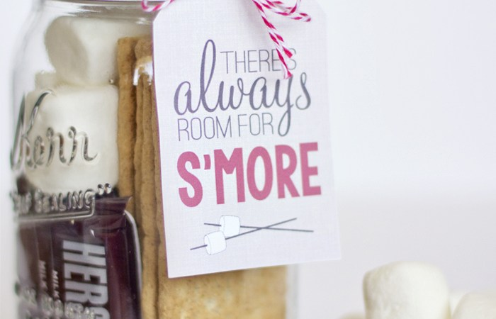 Free Printable S'Mores Gift Tag!