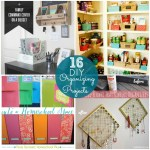 Great Ideas — 16 DIY Organizing Projects!