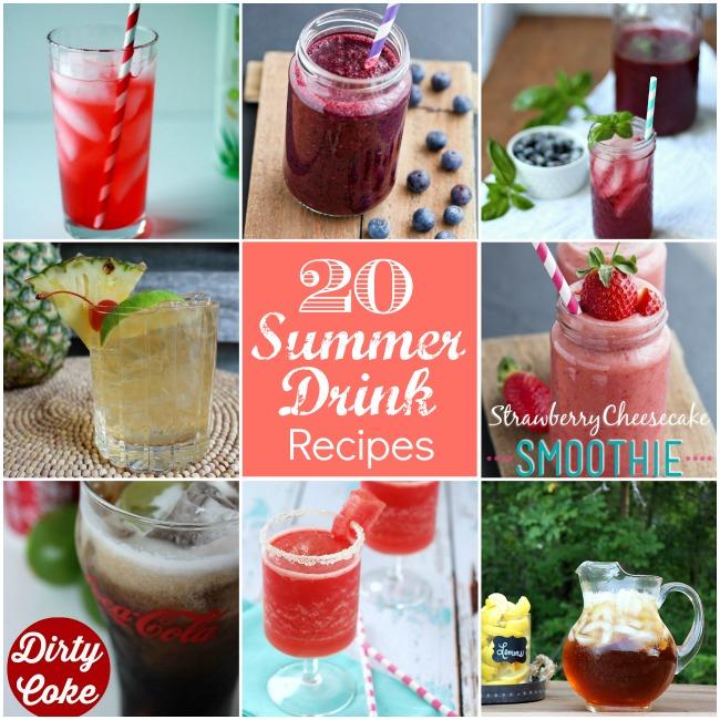 20 summer drink recipes at tatertots and jello