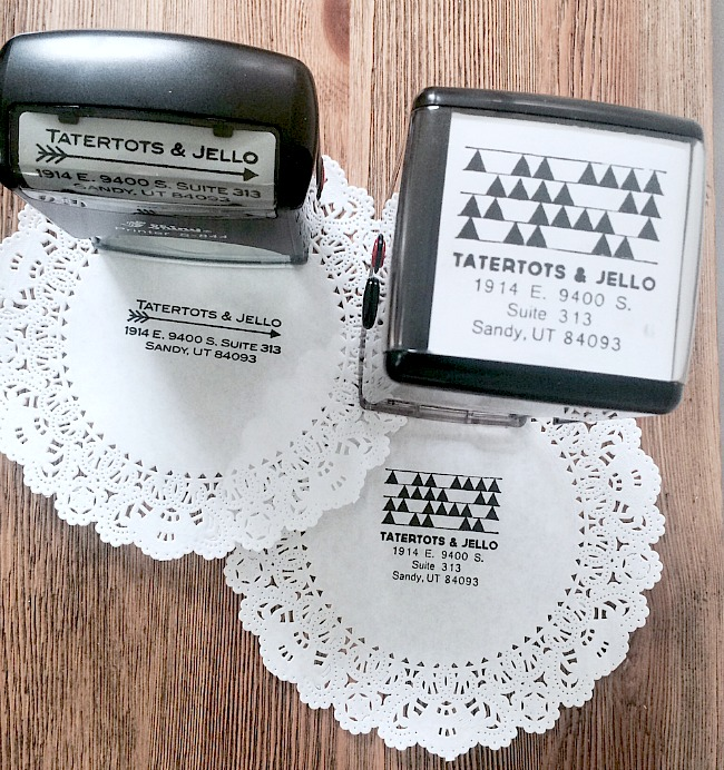 2712 designs personalized stamps