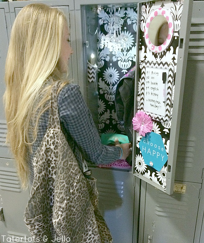 Back to School Locker Decorating! - Tatertots and Jello