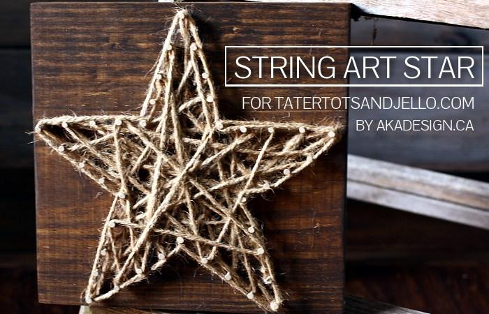 DIY String Art Star