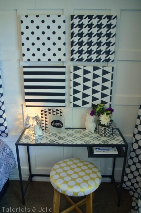 tatertots and jello tween desk area