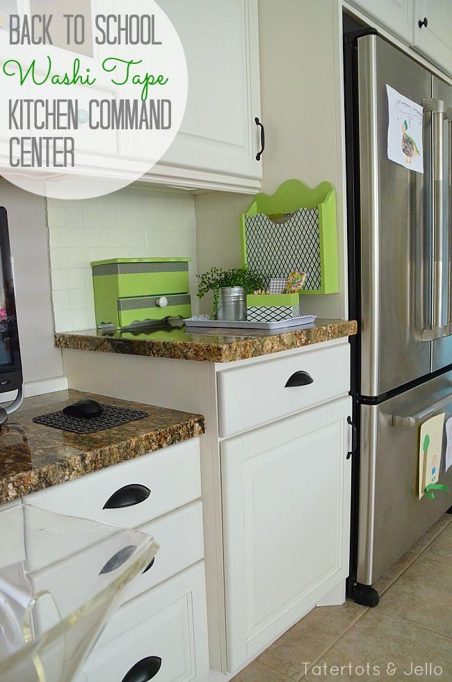washi-tape-kitchen-command-center-