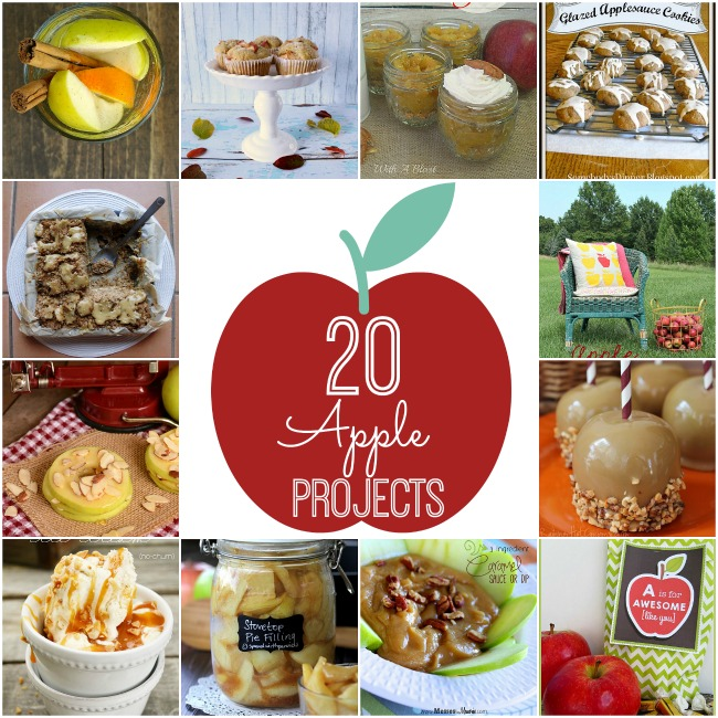 20 fall apple projects at tatertots and jello