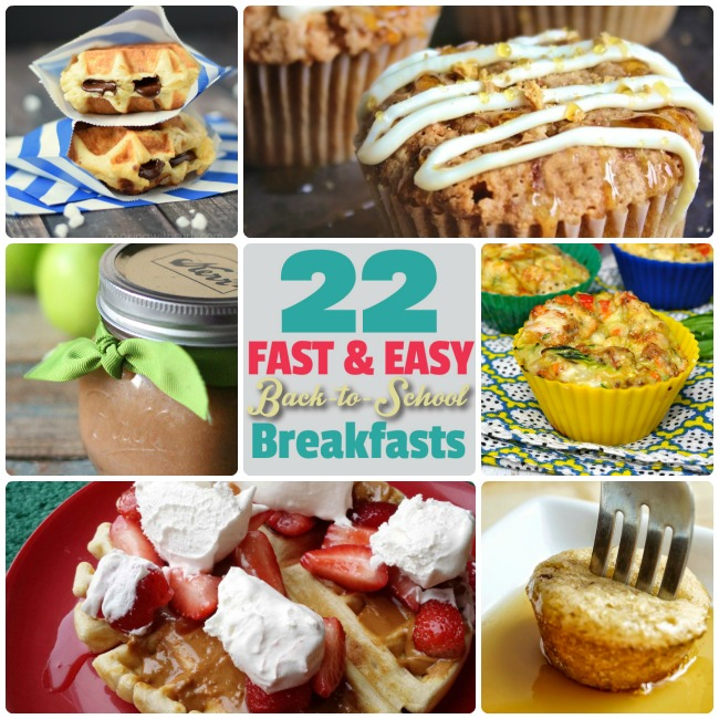 Great Ideas 22 Fast And Easy Back To School Breakfast
