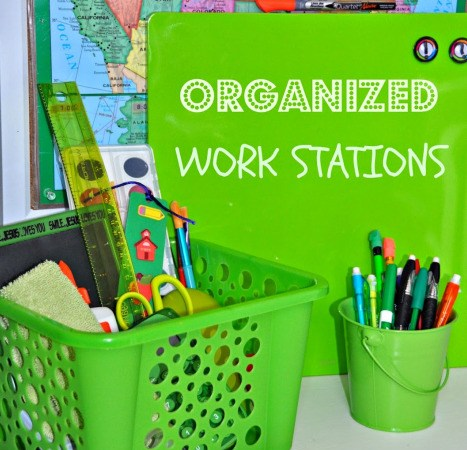 DIY Homework Stations