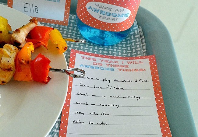 """Back to School Dinner """"Awesome"""" (Free) Printables!!"""