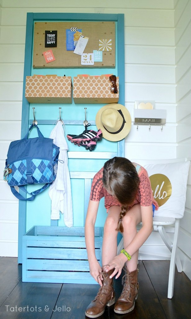 diy back to school organization station