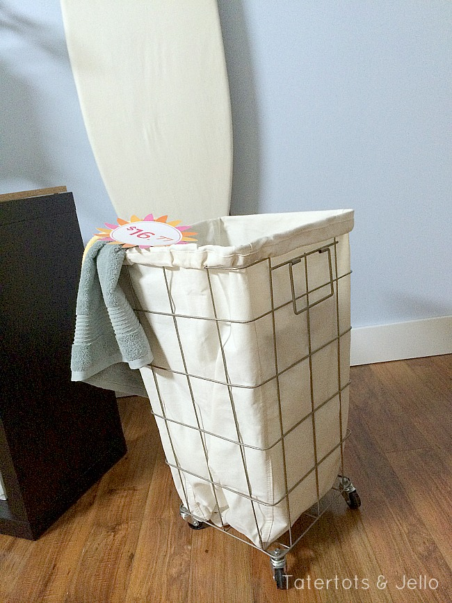 laundry basket on wheels from Better Homes and Gardens