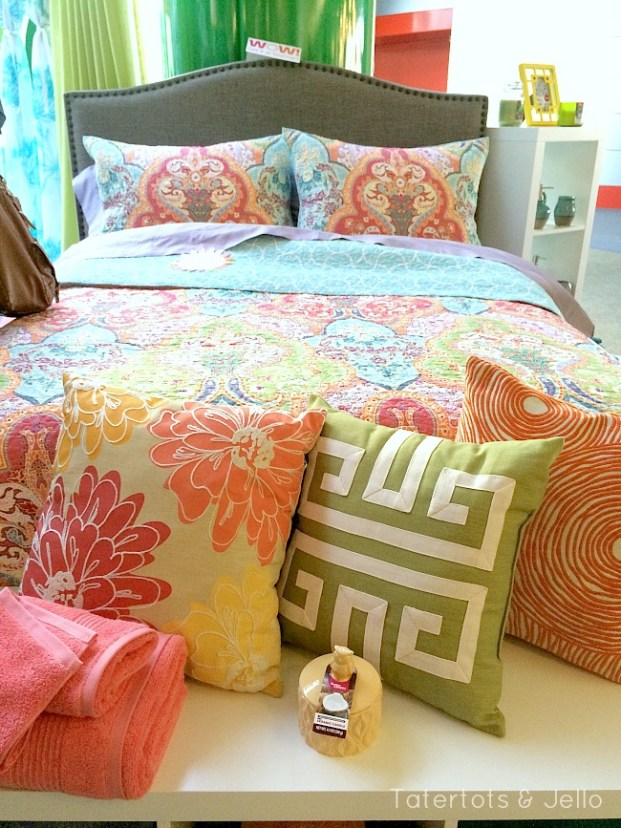 new bedding from better homes and gardens