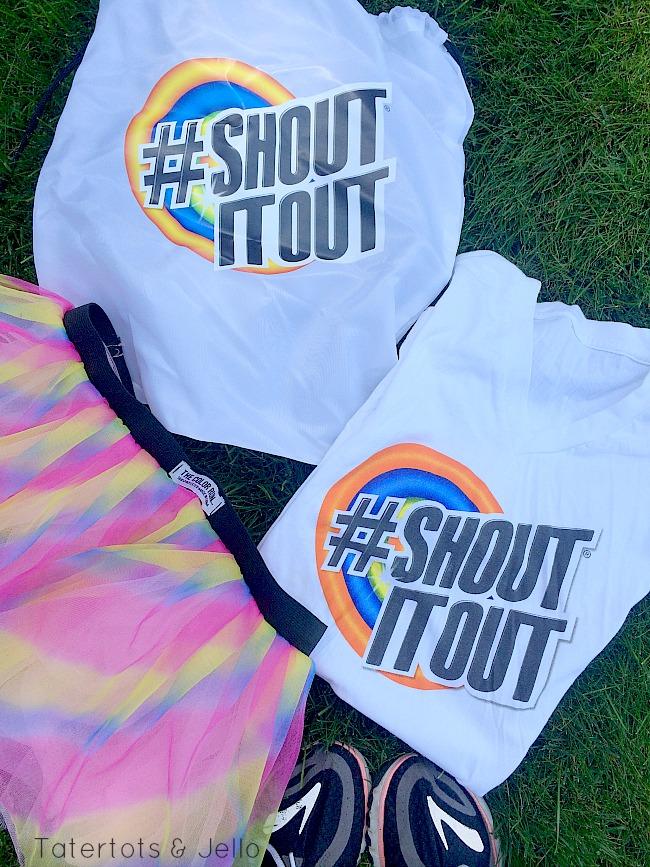 shout shirt all clean
