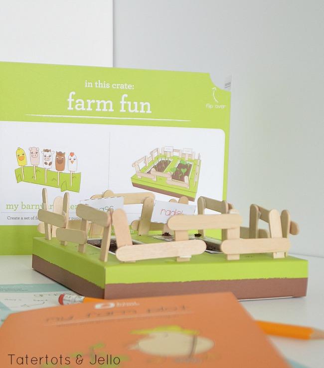 veggie farm kiwi crates
