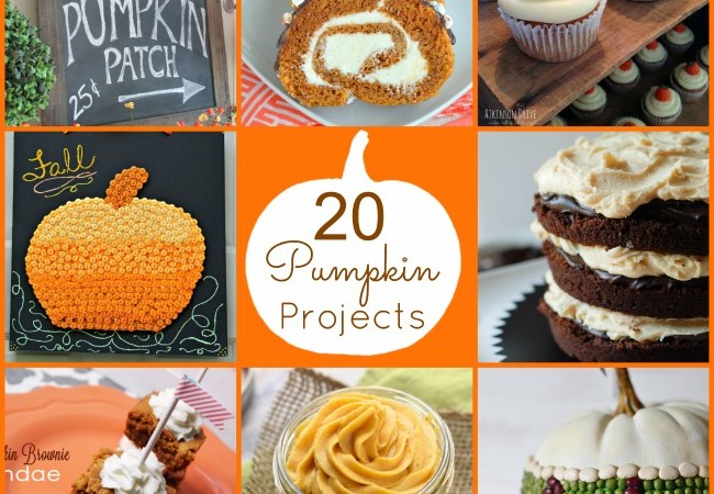 Great Ideas — 20 Fall Pumpkin Projects!