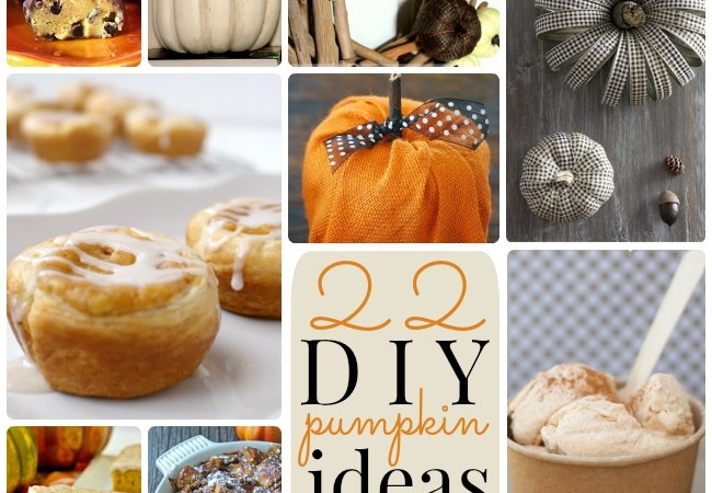 Great Ideas — 22 DIY Pumpkin Ideas!