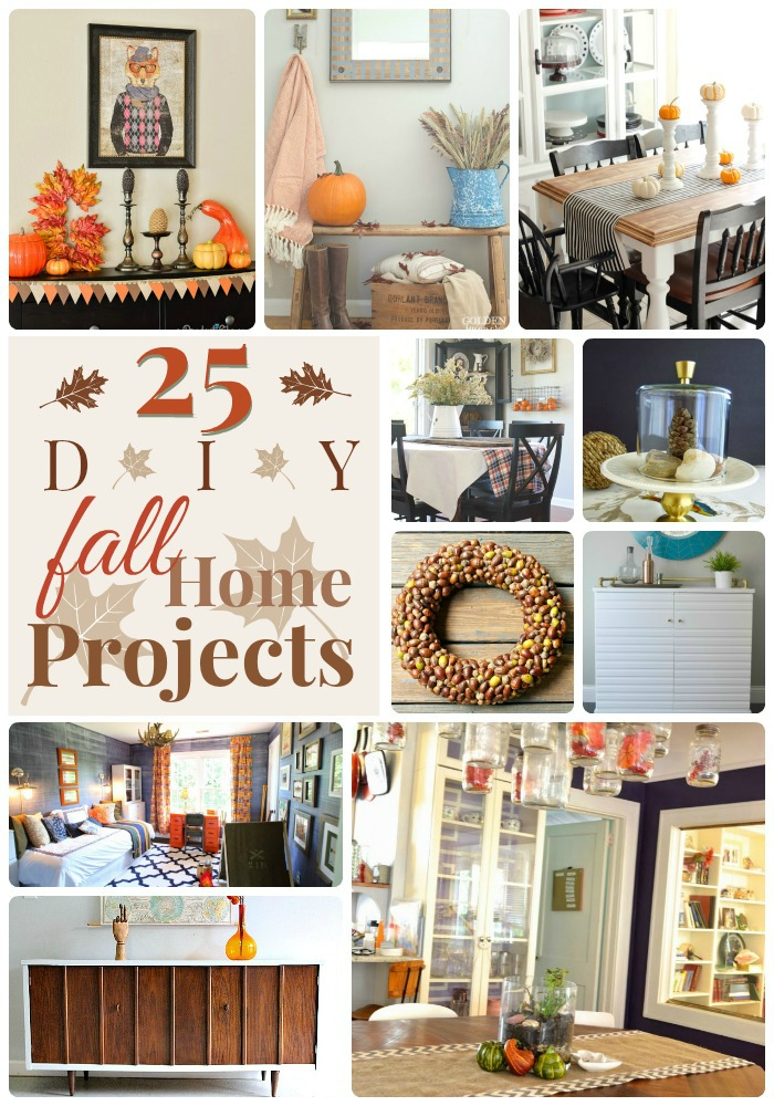 25 diy fall home projects