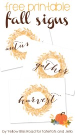 Free Printable Fall Signs