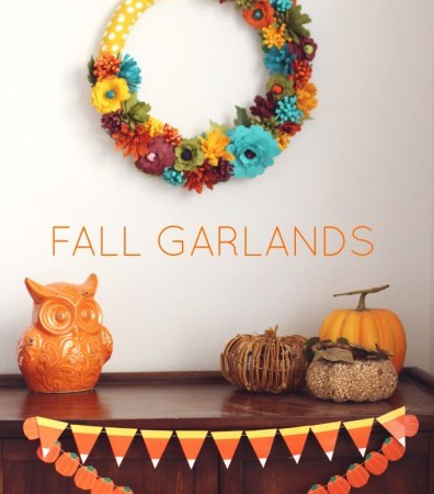 Free Printable Fall Garlands
