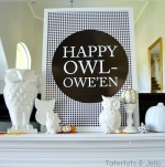 """Happy Owl-oween"" Free Printables!!"