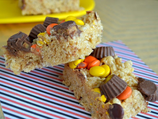Loaded Peanut Butter Treats