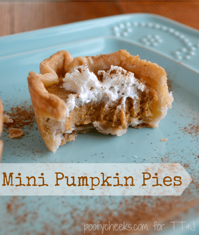 How to Make Mini Pumpkin Pies