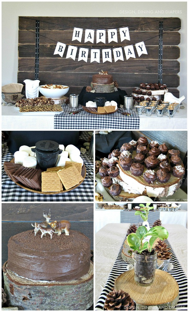 Modern-Camping-Themed-Birthday-Party-Ideas-designdininganddiapers.com-