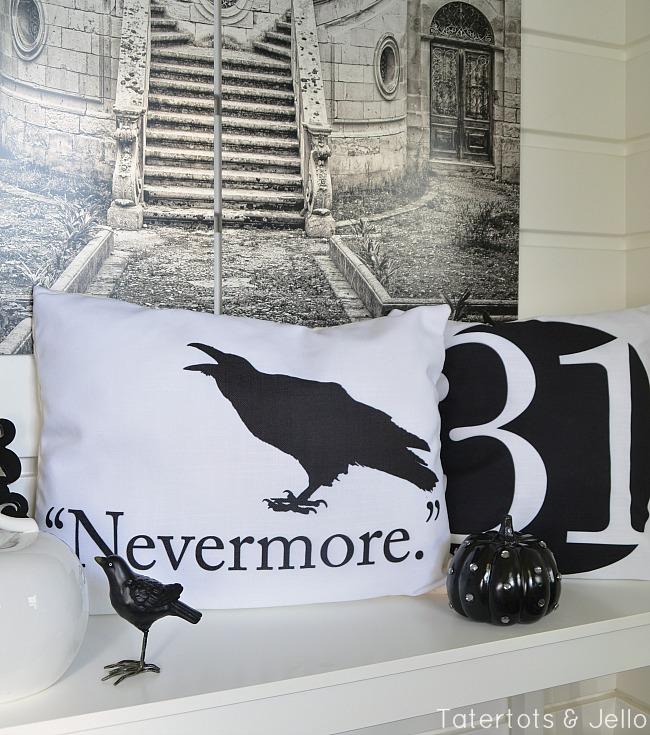 Nevermore Poe Halloween Printables