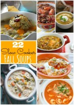 22 Slow Cooker Soup Recipes for Fall!