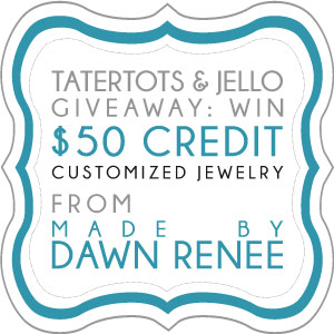 Link Party Palooza — and Made by Dawn Renee Jewelry Giveaway!