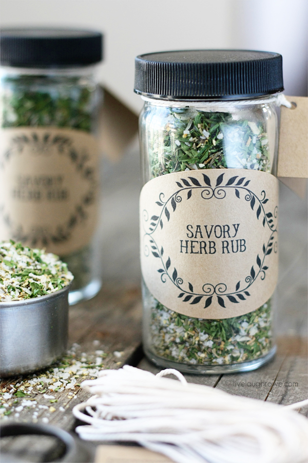 Homemade Savory Herb Rub