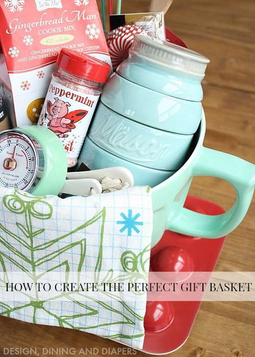Great-tips-and-tricks-on-how-to-create-the-perfect-gift-basket-Love-this-baking-gift-basket-idea.-