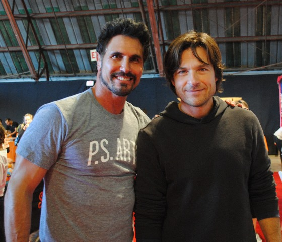 PS Arts 2014 - Don Diamont and Jason Bateman