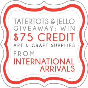 Link Party Palooza — and International Arrivals Giveaway!