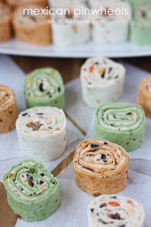 New Years Eve Mexican Pinwheels Recipe