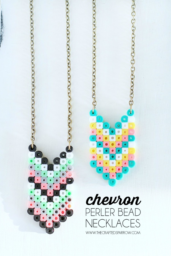 Perler-Bead-Necklaces