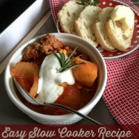 Favorite Slow Cooker Recipe: Tuscan Potato Soup!