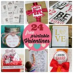 Great Ideas — 24 Free Printable Valentines!