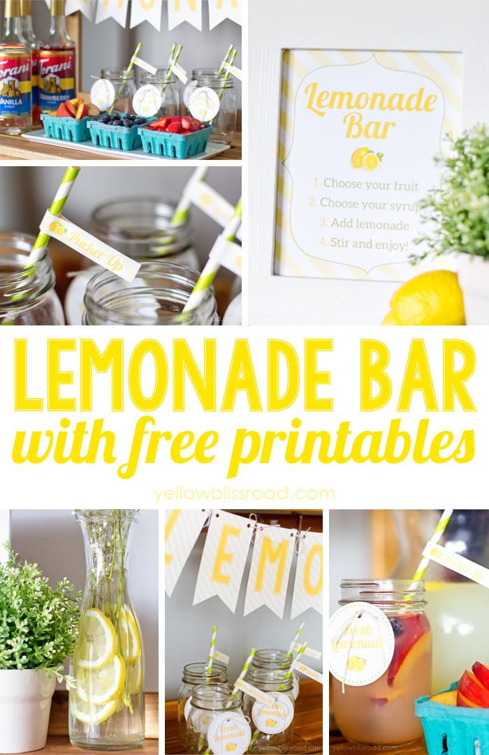 Lemonade-Bar-with-Free-Printables