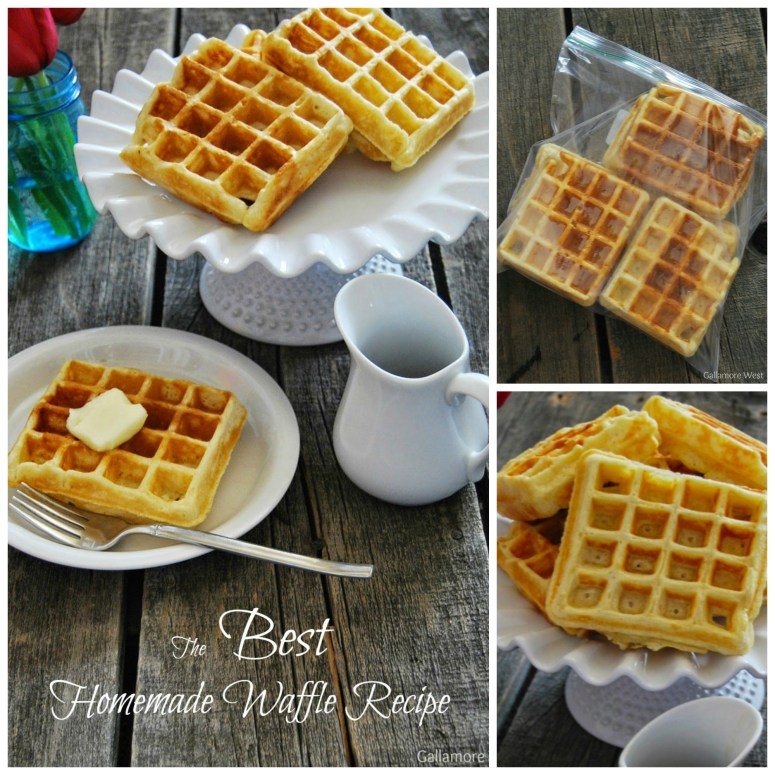 The best homemade waffle recipe