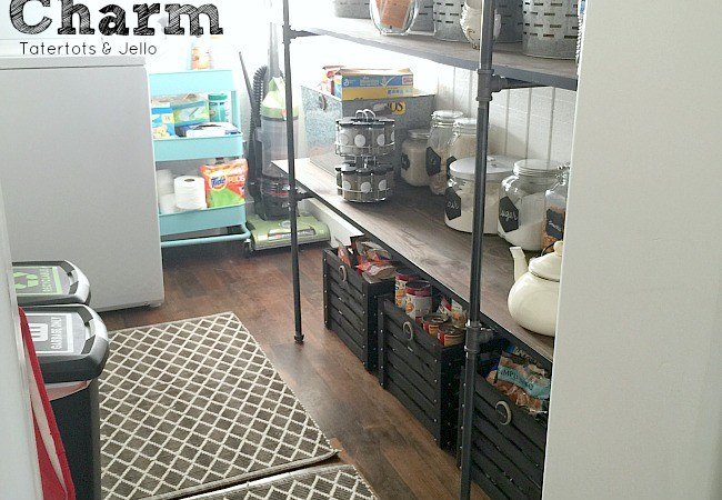 Pantry Organization: Rustic Charm! [Free Printables & $100 Walmart Gift Card Giveaway!]