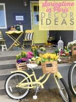 """Springtime in Paris"" Decor Ideas [& Enter to Win a Trip to Paris!]"
