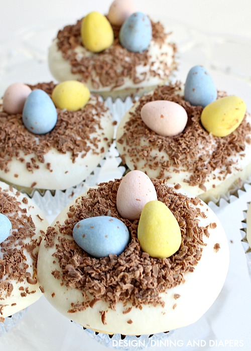 Easter-Cupcakes-using-Hersheys-chocolate-eggs-