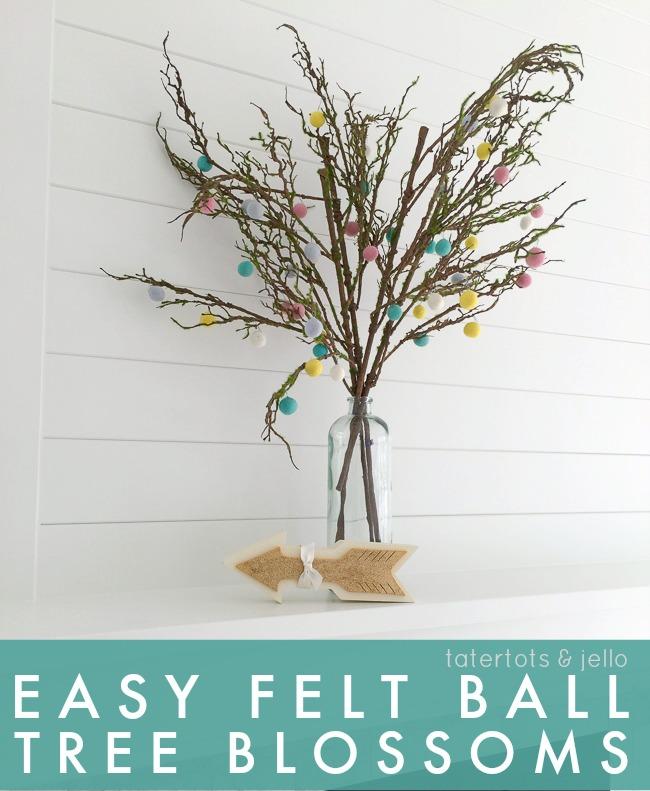 easy.felt.ball.tree.blossoms