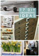 Great Ideas — 17 DIY Organizing Ideas!
