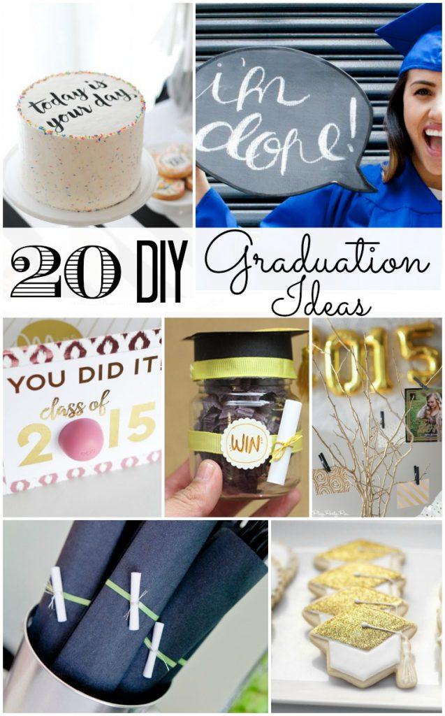 20 DIY Graduation Ideas
