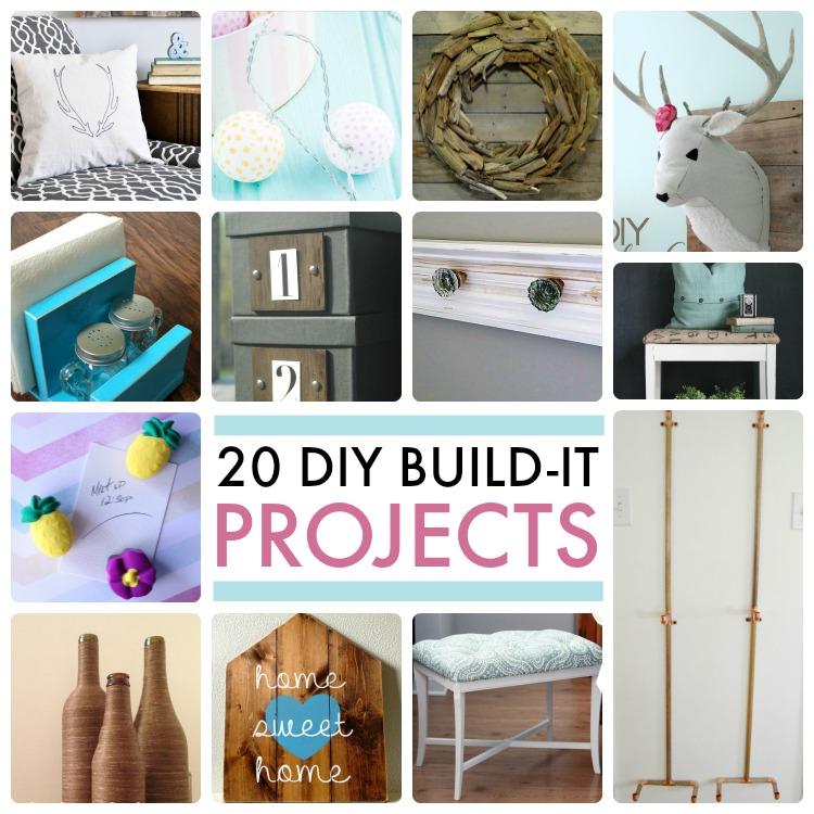 Great Ideas -- 20 DIY Build-It Projects!